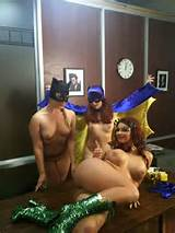 Batgirl XXX Behind the Scenes with Sunny Lane, Aurora Snow and Phoenix ...