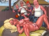 King of the Hill porn where hot blonde Luanne gets fucked