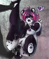 naughty panda girl