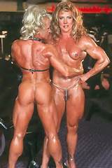 Various female bodybuilders from Jonny
