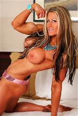 Beautiful Fitness Girl Posing Full Nude In Bed Muscle Girls