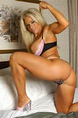 Blonde Fitness Beauty In Lingerie And High Heels PornVideoTV Com