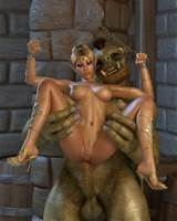 monsters111 180x180 Monster fucks a beautiful elf princess
