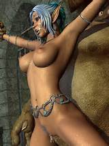 green2 180x180 Green monster fucks elf girl