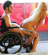 Bizarre Handicapped Porn featuring sex in a wheelchair with cripple ...
